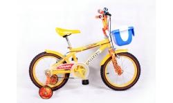 YQ16-98B黄色儿童脚踏车